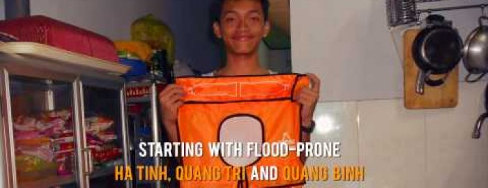 Kit Ong, Y&R Vietnam's Executive Creative Director, NUTIFOOD LIFE VEST
